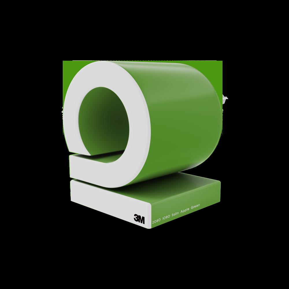 2080 1080 Satin Apple Green