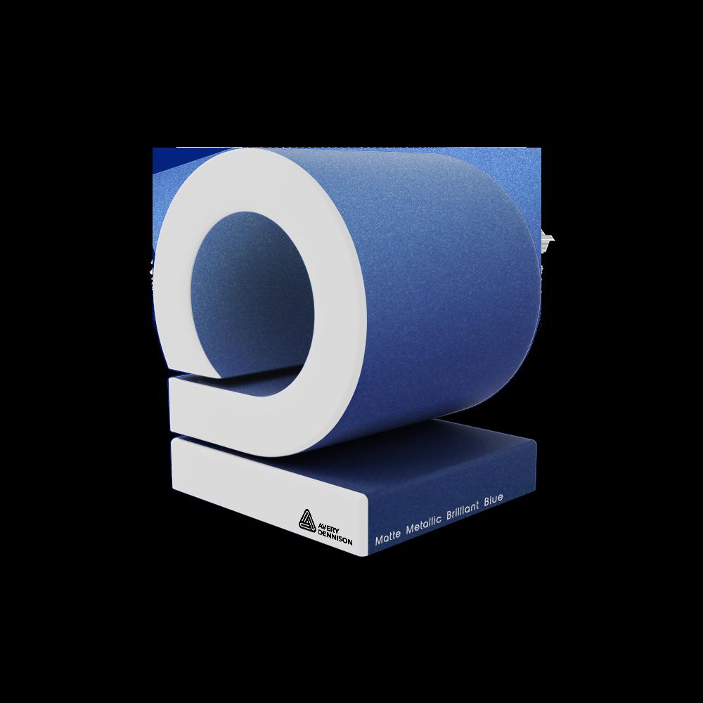 Matte Metallic Brilliant Blue